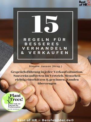 cover image of 15 Regeln für besseres Verhandeln & Verkaufen