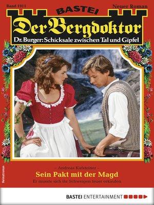 cover image of Der Bergdoktor 1911--Heimatroman