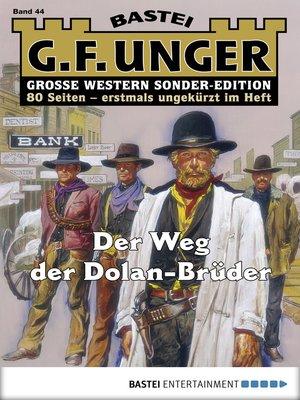 cover image of G. F. Unger Sonder-Edition--Folge 044
