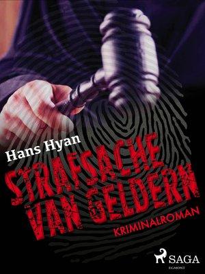 cover image of Strafsache van Geldern