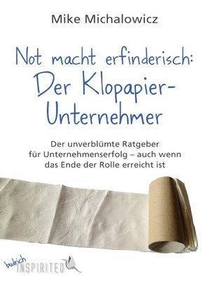 cover image of Not macht erfinderisch
