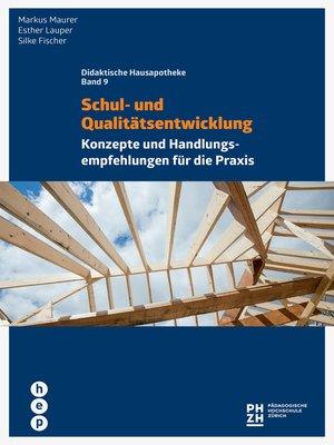 cover image of Schul- und Qualitätsentwicklung