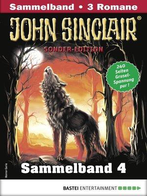 cover image of John Sinclair Sonder-Edition Sammelband 4--Horror-Serie