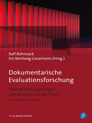 cover image of Dokumentarische Evaluationsforschung