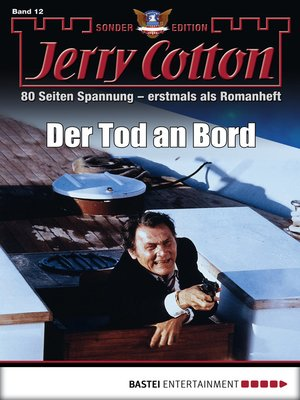 cover image of Jerry Cotton Sonder-Edition--Folge 12