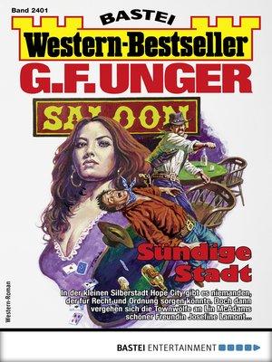 cover image of G. F. Unger Western-Bestseller 2401--Western