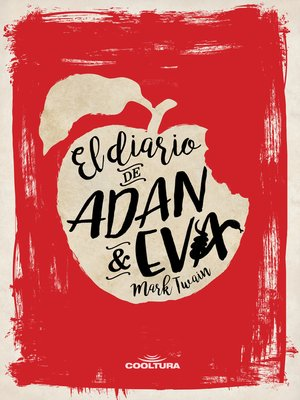 cover image of El diario de Adán y Eva