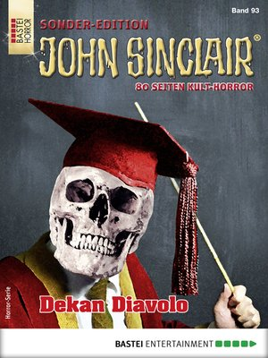 cover image of John Sinclair Sonder-Edition 93--Horror-Serie