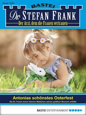 cover image of Dr. Stefan Frank--Folge 2283