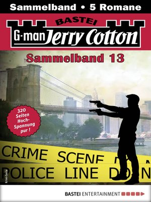 cover image of Jerry Cotton Sammelband 13--Krimi-Serie
