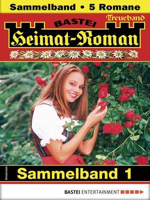 cover image of Heimat-Roman Treueband 1--Sammelband