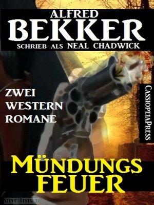 cover image of Mündungsfeuer