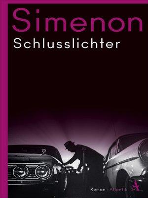 cover image of Schlusslichter