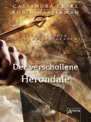 cover image of Der verschollene Herondale
