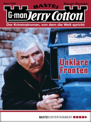 cover image of Jerry Cotton--Folge 2989