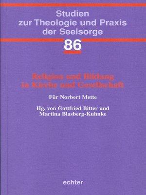cover image of Religion und Bildung in Kirche und Gesellschaft