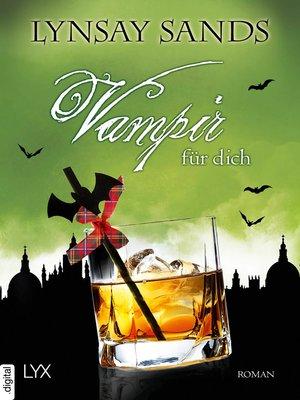 cover image of Vampir für dich