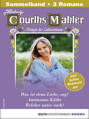 cover image of Hedwig Courths-Mahler Collection 11--Sammelband