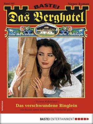 cover image of Das Berghotel 167--Heimatroman