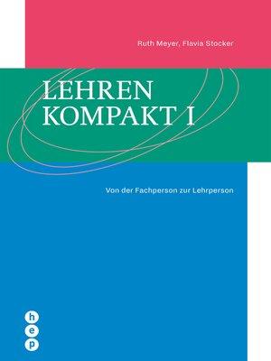 cover image of Lehren kompakt I (E-Book)