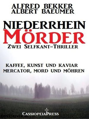 cover image of Zwei Selfkant-Thriller