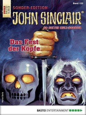 cover image of John Sinclair Sonder-Edition 125--Horror-Serie