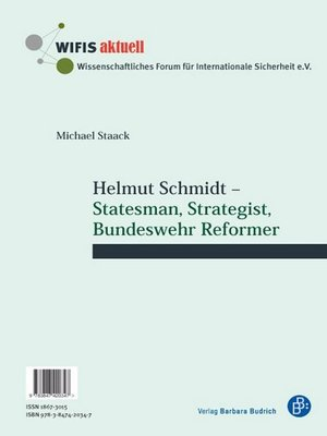 cover image of Helmut Schmidt