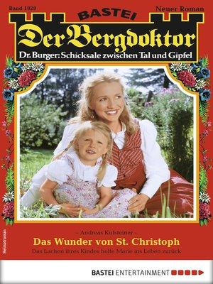 cover image of Der Bergdoktor 1929--Heimatroman