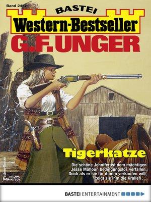 cover image of G. F. Unger Western-Bestseller 2457--Western