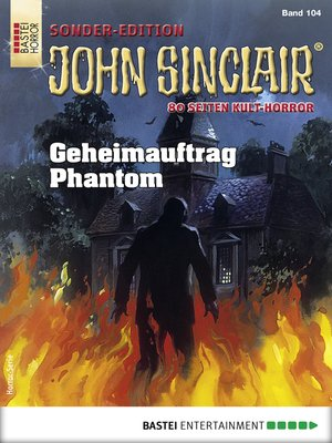 cover image of John Sinclair Sonder-Edition 104--Horror-Serie