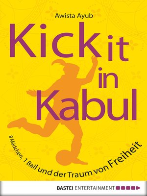 cover image of Kick It in Kabul