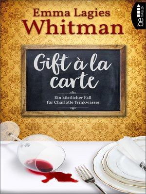 cover image of Gift à la carte
