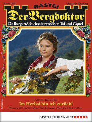 cover image of Der Bergdoktor 1935--Heimatroman