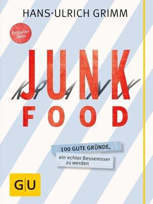 cover image of Junk Food--Krank Food