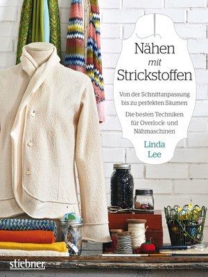 cover image of Nähen mit Strickstoffen