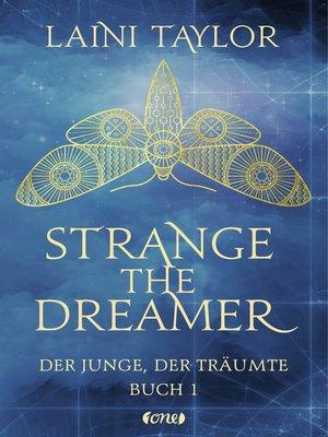cover image of Strange the Dreamer--Der Junge, der träumte