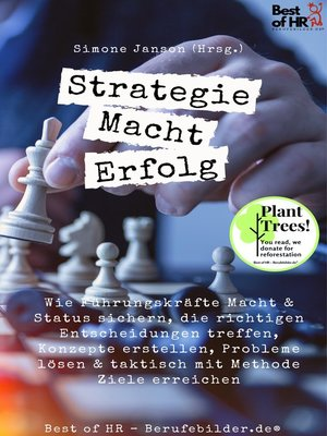 cover image of Strategie Macht Erfolg