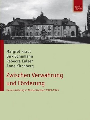 cover image of Zwischen Verwahrung und Förderung