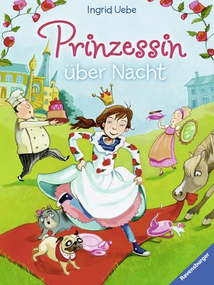 cover image of Prinzessin über Nacht