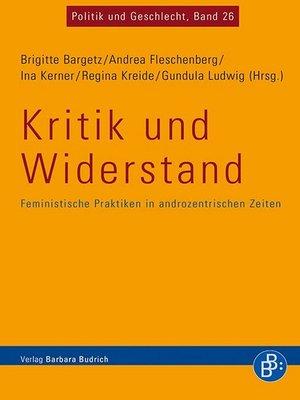 cover image of Kritik und Widerstand