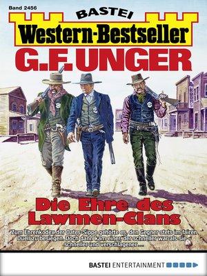 cover image of G. F. Unger Western-Bestseller 2456--Western