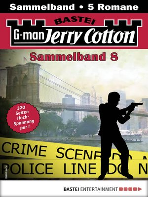 cover image of Jerry Cotton Sammelband 8--Krimi-Serie