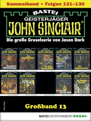 cover image of John Sinclair Großband 13--Horror-Serie