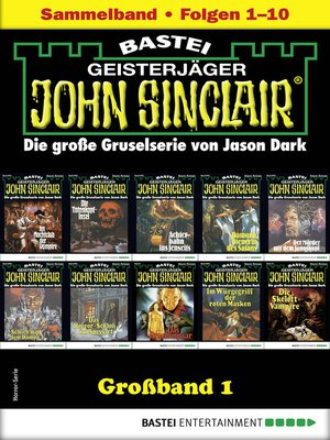 cover image of John Sinclair Großband 1--Horror-Serie