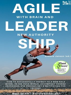 cover image of Agile Leadership with Brain and New Authority