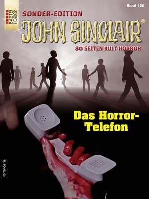 cover image of John Sinclair Sonder-Edition 139--Horror-Serie