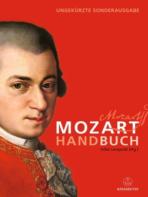 cover image of Mozart-Handbuch