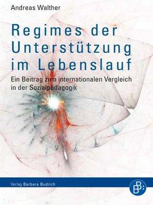 cover image of Regimes der Unterstützung im Lebenslauf