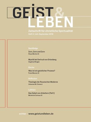cover image of Geist & Leben 3/2018