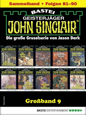 cover image of John Sinclair Großband 9--Horror-Serie